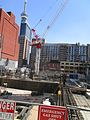 Construction around the old Westinghouse building, at Soho and King, 2017 05 18 -ae (34708635236).jpg
