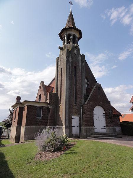 Contescourt (Aisne) église Saint-Amand