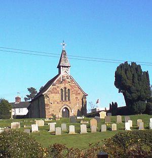 Coppenhall - Coppenhall Church, April 2008