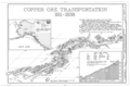 Copper Ore Transportation, 1911-1938 - Kennecott Copper Corporation, On Copper River and Northwestern Railroad, Kennicott, Valdez-Cordova Census Area, AK HAER AK,20-MCAR,1- (sheet 2 of 15).png