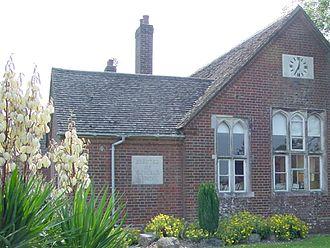 Corfe Mullen - Part of Lockyer's Middle School in 2006