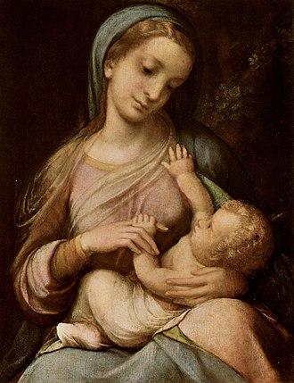 Galleria Estense - Madonna Campori by Correggio