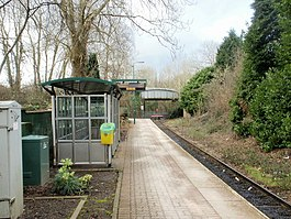 Coryton railway station , the end of the line - geograph.org.uk - 1715623.jpg