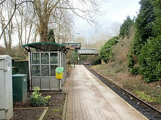 Coryton railway station - Image: Coryton railway station , the end of the line geograph.org.uk 1715623