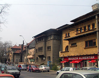 Cotroceni - Most houses in Cotroceni were built between the two World Wars