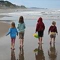 Cousins at Lincoln City beach.jpg
