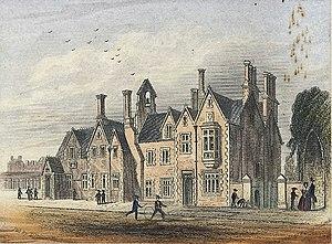 Cowbridge Grammar School - Cowbridge school, c.1860