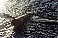 Crashed Mitsubishi G4M floating off Tulagi on 8 August 1942 (80-G-K-383).jpg