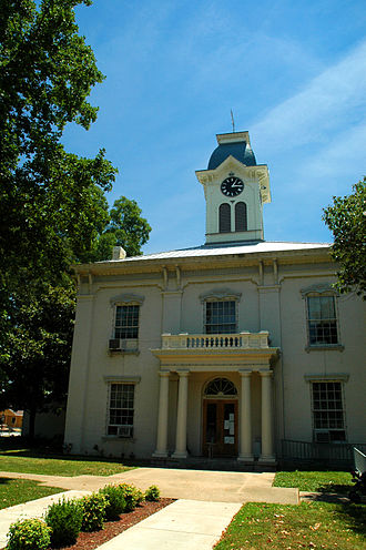 Van Buren Historic District - Image: Crawford County Arkansas Courthouse