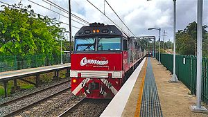 Crawfords Freightlines - PHC class locomotives at Cowan in April 2016