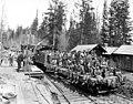 Crew on train with Climax locomotive, Westport Lumber Company, Westport, ca 1920's (KINSEY 2643).jpg