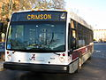 Crimson Bus front view.JPG