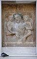 Cristo con due angeli facciata orientale chiesa dei Gesuati .jpg