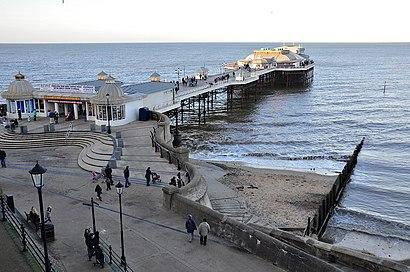 Πώς να πάτε στο προορισμό Cromer Pier με δημόσια συγκοινωνία - Σχετικά με το μέρος