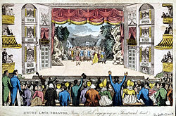 Cruikshank Pierce' Egan's Real Life - Drury Lane Theatre 1821.jpg