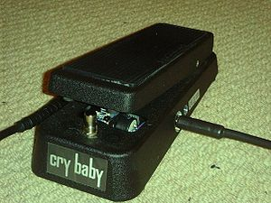 My Dunlop Cry Baby.