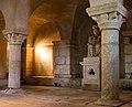 Crypte de l'église saint Marcouf, Saint-Marcouf, France.jpg