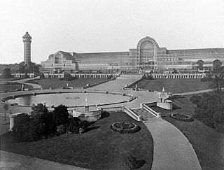 The Crystal Palace Former building originally in Hyde Park, London, 1854 relocated to Bromley, South London