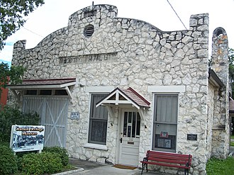 National Register of Historic Places listings in Citrus County, Florida - Image: Crystal River City Hall 01