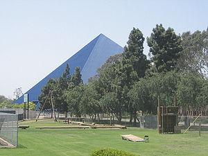 Walter Pyramid at the Cal State Long Beach cam...