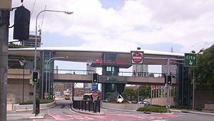 Cultural Centre busway station - Image: Cultural Centre Busway Station
