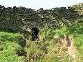 Culvert through drystone wall near Low Huntwell - geograph.org.uk - 1022251.jpg