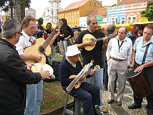 Curitiba - Feira do Largo da Ordem - Grupo de Chorinho