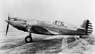 36th Fighter Squadron - Curtiss YP-37