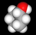 Cyclohexanol Kalottenmodell.png