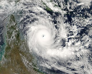 Cyclone Ingrid Category 5 Australian region cyclone in 2005