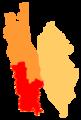 Dêqên Subdivisions map.png