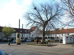 Düsseldorf-Flehe - Image: Düsseldorf, Aachener Platz 1