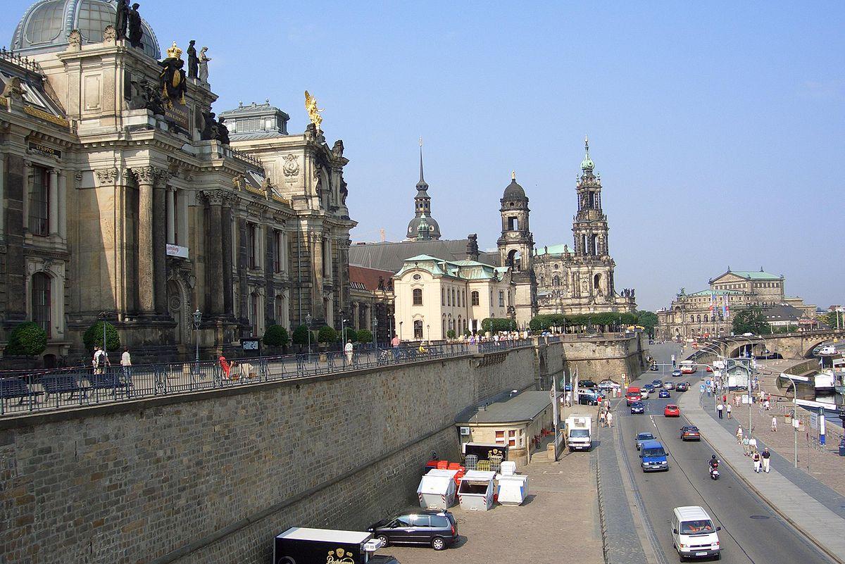 Bruhlsche Terrasse Wikipedia