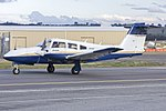 DET Aviation Pty Ltd (VH-PIE) Piper PA-44-180 Seminole taxiing at Wagga Wagga Airport.jpg