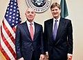 DHS Undersecretary Alejandro Mayorkas with Enrique de la Madrid Cordero, Mexico's Secretary of Tourism.jpg