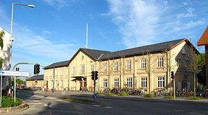 Hjørring - Hjørring railway station.