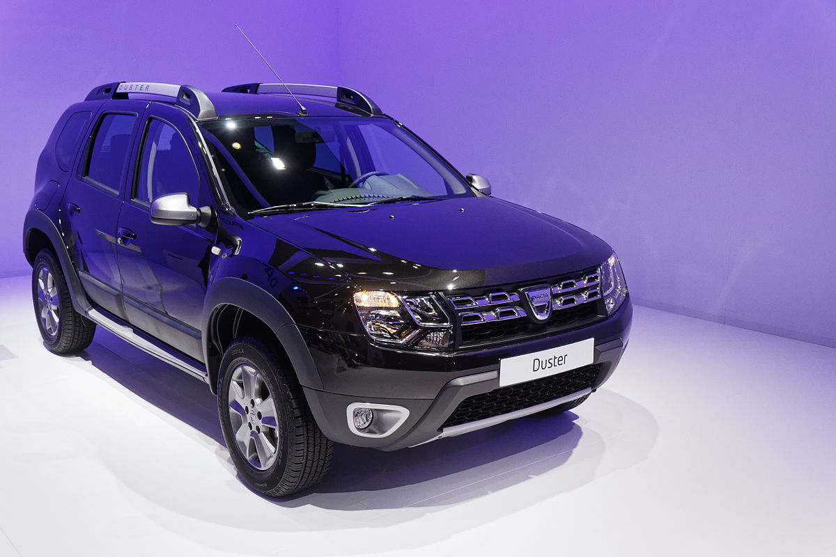 Dacia duster wikipedia for Interieur voiture