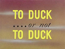 Description de l'image  Daffy Duck - To Duck or not To Duck 001 0001.jpg.