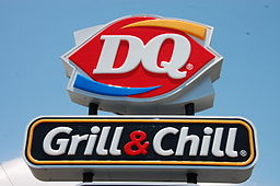 Dairy Queen Grill & Chill sign