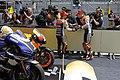 Dani Pedrosa and Casey Stoner 2011 Estoril 2.jpg