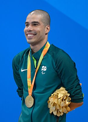 Daniel Dias - Dias at the 2016 Paralympics