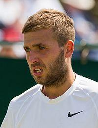Daniel Evans 1, 2015 Wimbledon Qualifying - Diliff.jpg