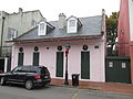 Dauphine St FQ Dec2013 Pink Creole Cottage 2.JPG