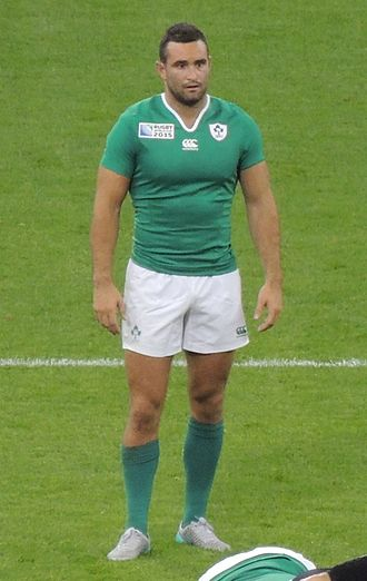 Dave Kearney - Kearney playing for Ireland during the 2015 Rugby World Cup