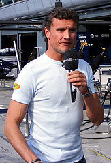 David Coulthard podczas Grand Prix Włoch (2007)