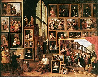 Theatrum Pictorium - Image: David Il G Teniers The Gallery of Archduke Leopold in Brussels 1