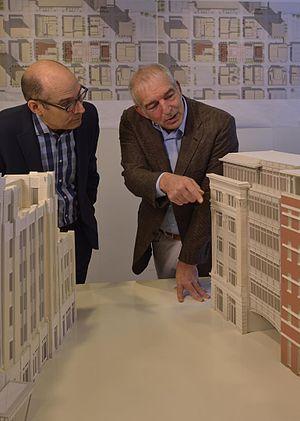 David M. Schwarz - Geoffrey Baer left, David M. Schwarz right