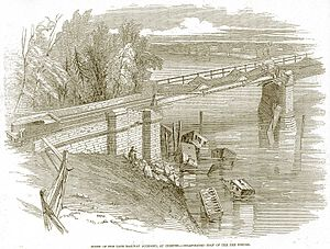 Dee Bridge disaster - Image: Dee bridge disaster