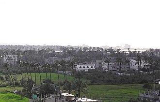 Deir al-Balah - Skyline of Deir al-Balah, 2008
