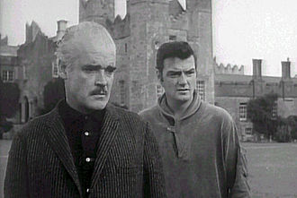 Dementia 13 - Patrick Magee as Dr. Caleb and William Campbell as Richard Haloran